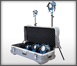 light like a boy scout u2013 be prepared with this arri fresnel fivelight kit