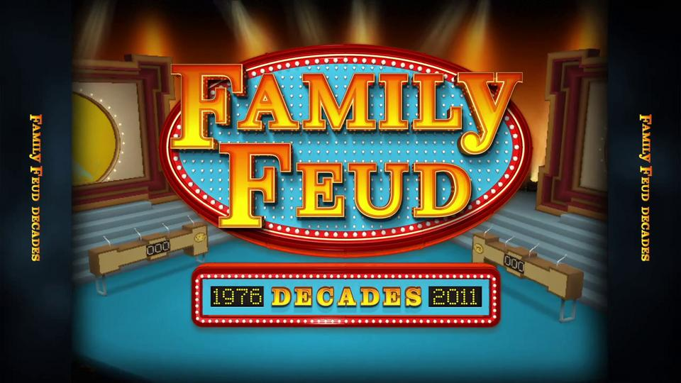 Family Feud Decades – Online Game - Dre5 Productions Las