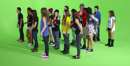Just Dance 2 Commercial shoot just a little about Dre5 Productions a Las Vegas production company