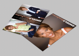 Angela Joachim Zed Card designed by Dre5 Productions