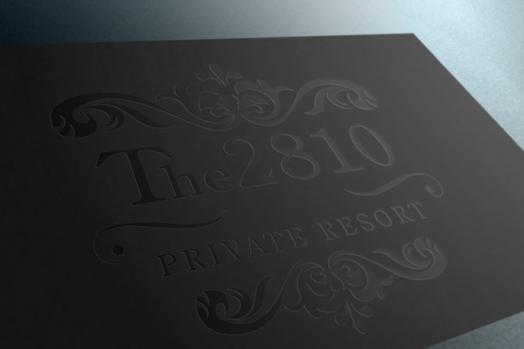 The 2810 Estate Logo designed by Dre5 Productions