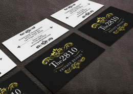Dre5 Productions Business Card Graphic Design