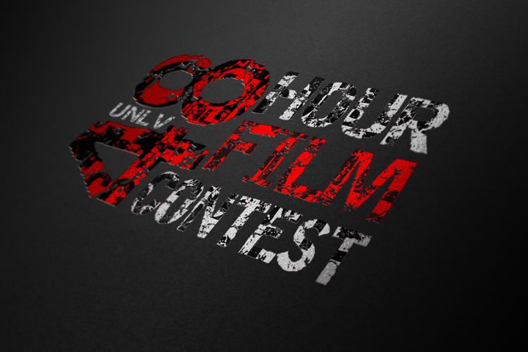 UNLV 48 Hour Film Contest Logo Designed by Dre5 Productions